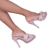 942a38c8bc Tamanco Feminino Mega Confortável Up Shoes Salto Alto R  700