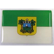 Bandeira Estado Do Rio Grande Do Norte Ne Brasil 6x4cm - Bre