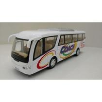 Miniatura Ônibus Coach Kinsfun De Ferro Ótimo