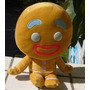 Pelúcia Homem Biscoito Shrek - 25cm