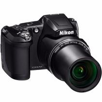 Camera Digital Nikon Coolpix L840, 16mp, Zoom 38x, Filma Hd