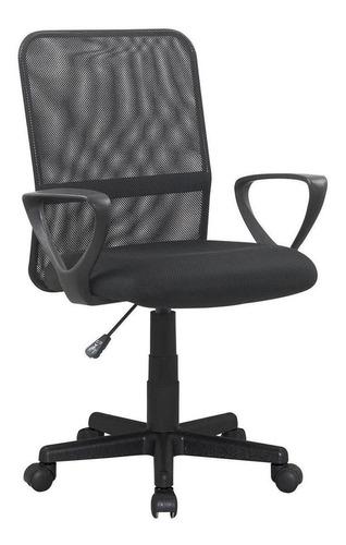 Cadeira De Escritório Trevalla Cde-04-1 Ergonômica Preta