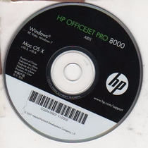 Cd De Instalação Para Impressora Hp Officejet Pro8000-a11