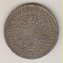 F46 - 200 Duzentos Réis 1889 Moeda De Níquel R$ 10,00