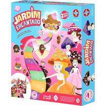 Jogo Tabuleiro Jogo Jardim Encantado Cupcake Surpresa