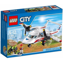 Lego City 60116 Ambulance Plane, Novo, Pronta Entrega!