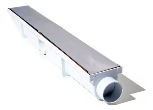 Ralo Linear 6x50 Inox Oculto Invisível