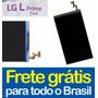 Display Lcd Lg L Prime Dual D337 - 100% Original + Garantia!