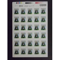 Selo Carta Comercial 1° Porte Correios 1050 Und.- Fls C/30