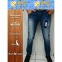 Kit 5 Calças Jeans Skinny Slim Laycra (16%de Desc Descrição)