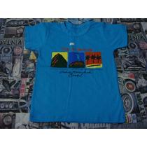 Blusa Camiseta Tam. 6 Anos Rio De Janeiro Azul Lembranca
