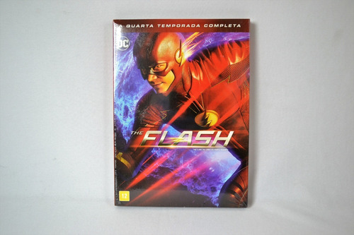 Dvd Box The Flash - Quarta Temporada Completa (novo!lacrado)