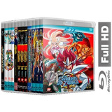 Cavaleiros Dos Zodíaco - Completo Sagas E Filmes Em Blu-ray
