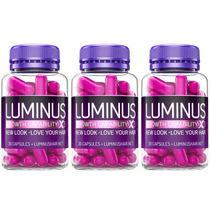 Kit 3x Potes Luminus Hair (original) Cabelos Mais Compridos