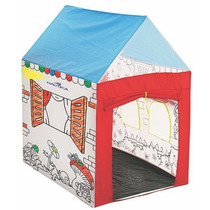 Barraquinha Barraca Infantil Play Color 0,73x0,98 X1,12 Mts