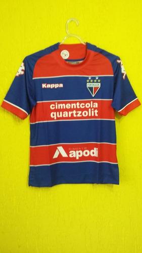 Camisa Fortaleza 2015 - Kappa - Jogo 1 Juvenil - Tamanho 12 50cf7305c50ef