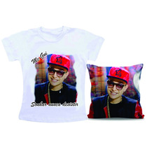 Kit Camiseta + Almofada Mc Gui