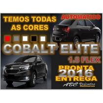 Cobalt Elite 1.8 Flex Automatico 2016 - 0 Km Pronta Entrega