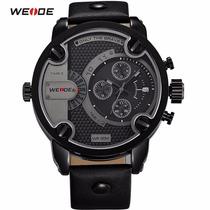Relógio Weide Sports Oversize E Cronógrafo Estilo Diesel
