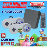 Super Game Box - Video Game Retro +7000 Jogos Antigos