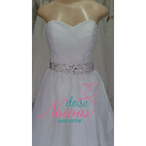 Vestido De Noiva Pp Lindo Pronta Entrega Novo