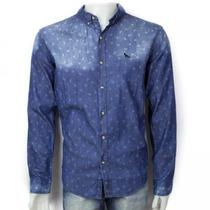 Camisa Social Casual Acostamento Masculina 69101059 Original