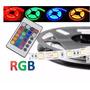 Fita Led 5m Ultra Rgb 5050 Prova Dagua + Fonte + Controle
