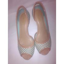 Sapato De Salto Trisse/verniz Cristal Tamanho 36