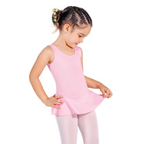 Collant Regata C/ Saia Infantil Ballet Só Dança - Em Helanca