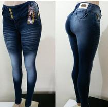 Calça Legue Jeans 3%elastano Esbranquecida.