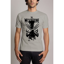 Camiseta The Wolverine Marvel Frete Gratis