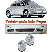 Parachoque New Beetle 2006 2007 2008 2009 2010 + Par Farol