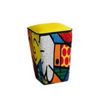 Puff Tamburim Romero Britto The Hug, Produto Original
