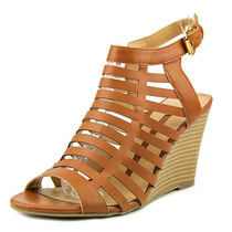 New Directions Roman Mulheres Couro Wedge Sandal
