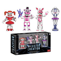 Kit Five Nights At Freddy Sister Location Ballora Foxy Funko
