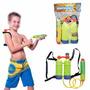 Lançador Pistola De Agua Reservatorio Brinquedo Piscina