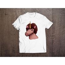 Camiseta Unissex Afro Unicórnio Black Power