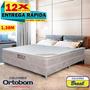 Conjunto Ortobom Colchão Airtech Spring Pocket cama Box