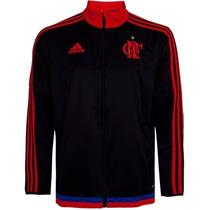 Jaqueta Flamengo Adidas Preto Elanka 2014 Tam M