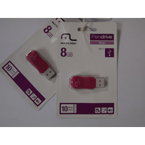 Kit Com 2 Pendrives Titan Rosa De 8gb