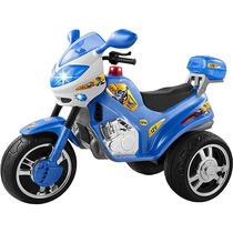 Mini Veículo Infantil Super Moto Polícia Azul 12v - Magic To