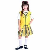 Fantasia Carrossel Amarelo Infantil Feminino Sulamericana