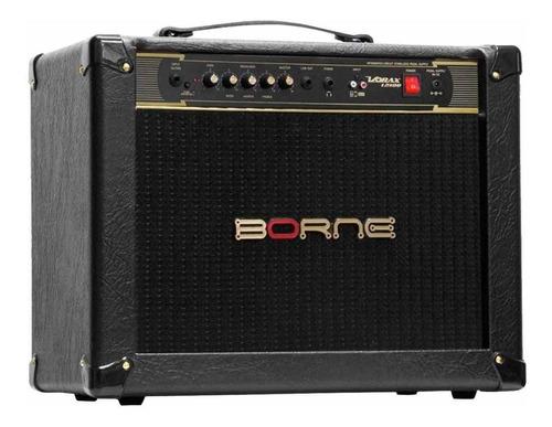 Amplificador Borne Vorax 12100 100w Preto E Dourado 110v/220v