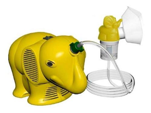 Nebulizador Compressor Ns Inalafante Amarelo 110v/220v