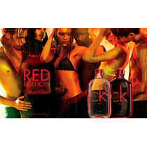Calvin Klein Ck One Red Edition For Her Edt 100 Ml