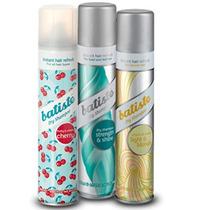 3 Shampoo Seco Batiste Spray 200ml + Escova Bio Extratus