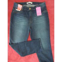 Calça Jeans Cintura Alta Plus Size Biotipo Tam 56