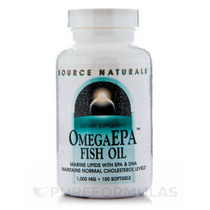 Omega Epa Fish Oil 1000 Mg - 100 Cápsulas Por Source Natura