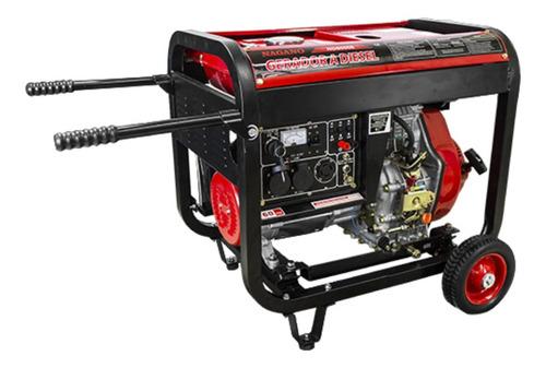 Gerador Portátil Nagano Nd8000e 8000w Monofásico Com Tecnologia Avr 110v/220v (bivolt)