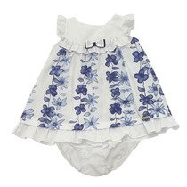 Conjunto Vestido Bebê Menina Silk Floral - Noruega - 4babies